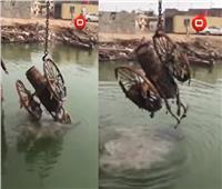 فيديو| العثور على مدفع عثماني في البصرة