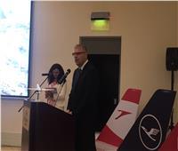لوفتهانزا الألمانية تحتفل بمرور 60 عامًا على التواجد بالمطارات المصرية