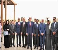 بالصور| السفير السعودي بالقاهرة يلتقي وفد غرفة مكة التجارية