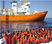 مهاجرون أنقذتهم سفينة شحن يرفضون النزول في ميناء مصراته بليبيا