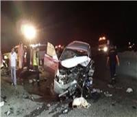 وفاة سائق وإصابة 9 في حادث تصادم بـ«صحراوي الإسكندرية»