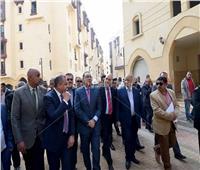 صور..رئيس الوزراء يتابع التشطيبات النهائية لمشروع «تل العقارب»