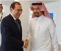 وزير البترول يبحث مع السعودية سبل التعاون المشترك