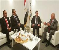 وزير البترول يلتقي بوفد «بيكر هيوز جنرال إلكتريك»