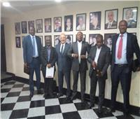 صور| «أبوريدة» يستقبل رؤساء 5 اتحادات إفريقية