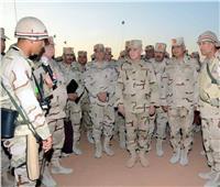 ضمن تشكيلات الجيش الثاني الميداني.. رئيس الأركان يتفقد مشروع «بدوى 35»