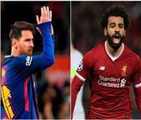 «صلاح» يتفوق على «ميسي» في أفضل 50 لاعب في العالم
