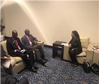 وزيرة البيئة تبحث مع سكرتير مجلس الوزراء الكيني سبل التعاون