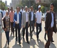 محافظ الجيزة: تطوير شارع الأهرام ورفع 2500 طن مخلفات