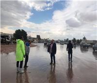 صور.. الإسكندرية تحت رحمة أمطار «المكنسة».. و3 جهات تتدخل