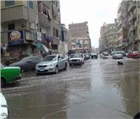 أمطار غزيرة في مدن وقرى محافظة الشرقية