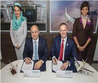 توقيع مذكرة تعاون بين شركتي «طيران الخليج البحرينية» و«الاتحاد اللإماراتية»