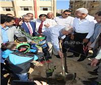 محافظة المنوفية ونقيب الزراعيين يدشنان مبادرة «الأشجار المثمرة»