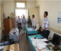 جولة مفاجئة لمحافظ المنوفية بإدارات الوحدة المحلية في شبين الكوم