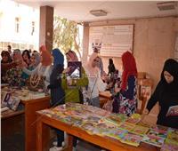 افتتاح معرض «كتابك بين إيدك» بـ«آداب المنوفية»