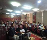 عامر عياد رئيسًا و«الشامي» نائبًا لاتحاد طلاب «حقوق المنوفية»