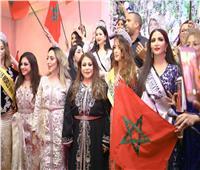 صور| نبيلة عقيلي ملكة جمال العرب مغرب 2019