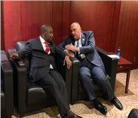 وزير الخارجية يؤكد دعم مصر لبوروندي في كافة المجالات