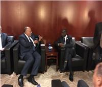 شكري يبحث مع وزير خارجية رواندا الإصلاح المؤسسي للاتحاد الأفريقي