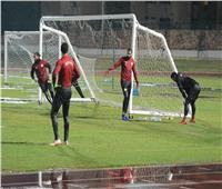 صور| مران قوي لمنتخب مصر رغم الأمطار الغزيرة