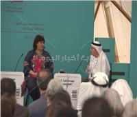 وزيرة الثقافة تشهد الندوة الافتتاحية لمهرجان البرده بأبو ظبي