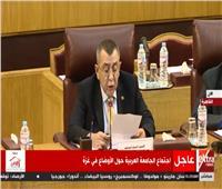 فيديو| الجامعة العربية: الاحتلال يتحدى الشرعية الدولية بالتعدي على الفلسطينين