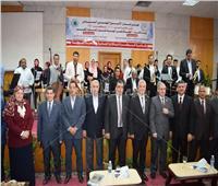 جامعة المنوفية تحتفل بختام الأسبوع البيئي السادس
