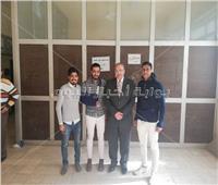 عبد الشافي رئيسًا لاتحاد طلاب «زراعة المنوفية» وكارم نائبًا له