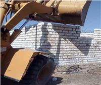 إزالة 38 حالة تعدي على أراضي زراعيةبمركز إدفو