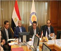 صور  وزير التعليم العالى يجتمع برؤساء لجان المجلس الأعلى للجامعات الجدد
