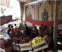 استمرار مبادرة «كلنا واحد» لبيع الفاكهة وحلوى المولد بالمنوفية