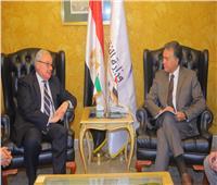 وزير النقل يلتقي سفيري كوريا الجنوبية وإيطاليا لتنفيذ مشروعات جديدة