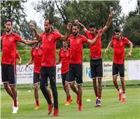 تدريبات مكثفة للاعبي الأهلى استعدادا لمواجهة «الوصل»