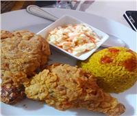 طبق اليوم| طريقة إعداد «دجاج كنتاكى مع أرز الريزو»