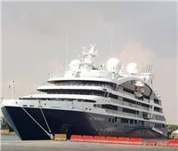 ميناء السخنة يستقبل 137 سائحًا من جنسيات مختلفة