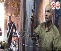 فيديو وصور| عم «مصطفى» مُبدع «العرائس».. صناعة مصرية 100%