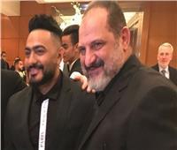 تامر حسني وخالد الصاوي يجتمعان في فيلم «حمزة»