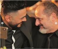 تامر حسني وخالد الصاوي يستعدان لـ «حمزة»| صور