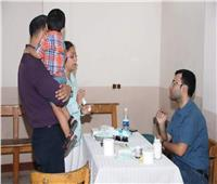 الكنيسة الكاثوليكية تنظم قافلة طبية جديدة لأهالي شبرا الخيمة