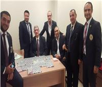 ضبط روسية تخفي 1200 «أمبول كمال أجسام» في «مطار القاهرة»