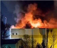 الطوارئ الروسية: إخماد حريق في مصفاة لتكرير النفط بموسكو