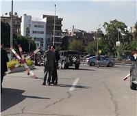تشديدات أمنية بمطار ألماظة قبل تشيع جنازة الشهيد العقيد ساطع النعماني