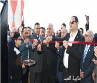 وزير الرى ومحافظ البحيرة يفتتحان محطة صرف طابيه العبد برشيد