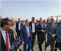 وزير الري ومحافظ البحيرة يتفقدان المشروعات المائية بالمحافظة