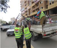 صور.. حملات أمنية لتطهير شوارع القاهرة من الباعة المتجولين