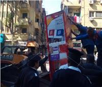 صور| حملة مكبرة لنائب محافظ القاهرة بشبرا