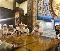 البابا تواضروس يدشن ٣ مذابح وأيقونات الكاتدرائية