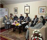 عبد الغفار يشهد احتفال المعهد العالي للدراسات الإسلامية بالمولد النبوي