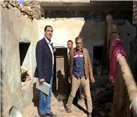 صور| لجنة هندسية ترصد خسائر الأمطار الغزيرة بـ«معابدة أسيوط»