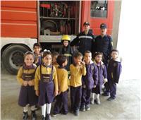 مديريات الأمن تواصل استقبال طلاب المدارس للتعرف على دور رجل الشرطة